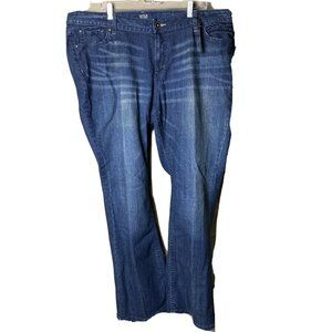 NWT Ana Women Jeans 24W Duke Wash Bootcut Low Rise